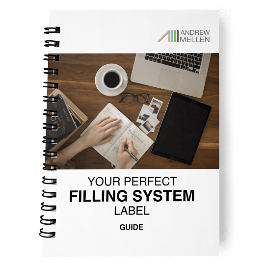 Perfect Filing System Label Guide
