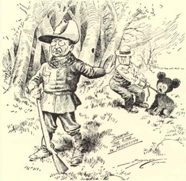 The 'Teddy' Bear