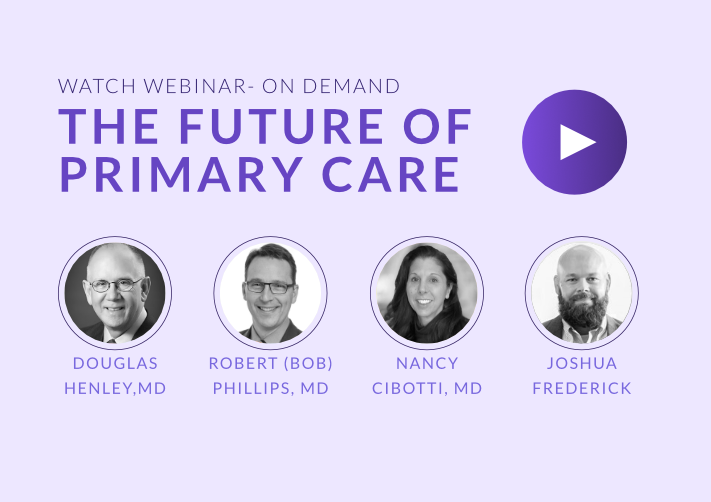 Primary Care's Future- Expected, Unexpected, and Unpredictable
