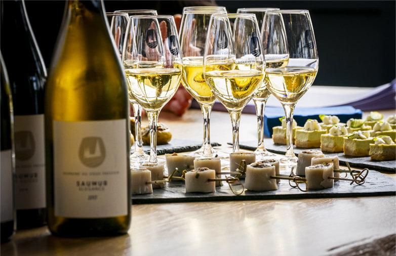 Dégustation vin de Saumur