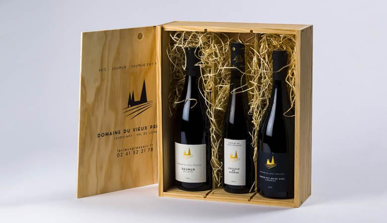 Caisse de vin, Domaine du Vieux Pressoir