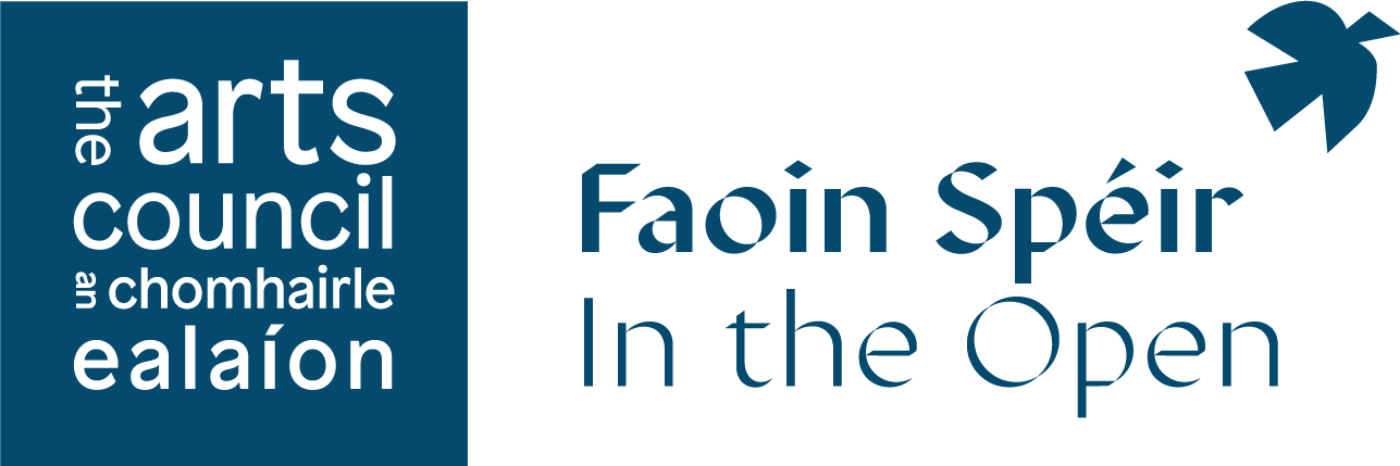 In the Open | Faoin Spéir is an Arts Council funded programme developed in response to the COVID-19 crisis for 2021 which will see a variety of outdoor arts events taking place in public spaces around Ireland. Co-funded and led by Tipperary County Council