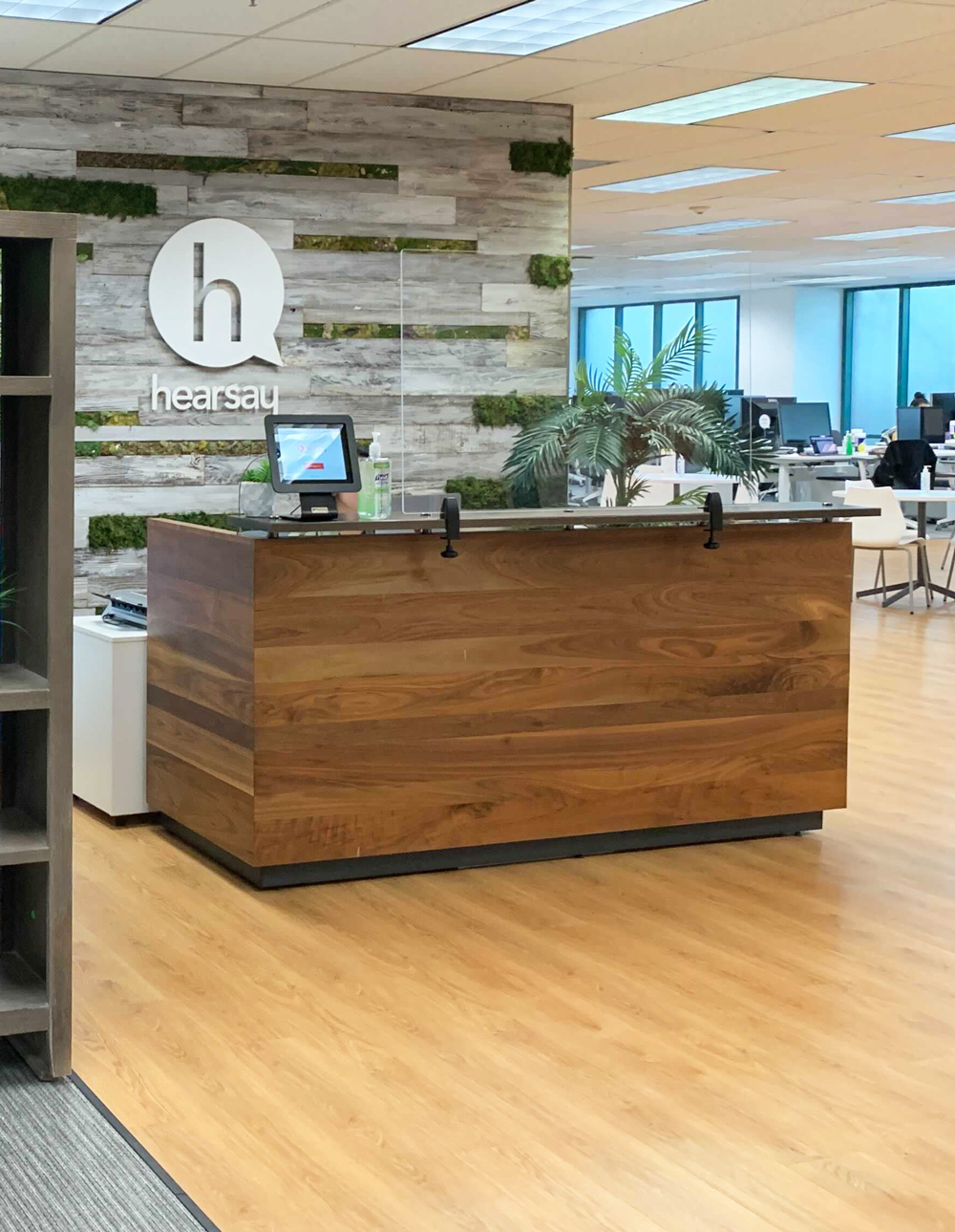 Hearsay San Francisco office front desk