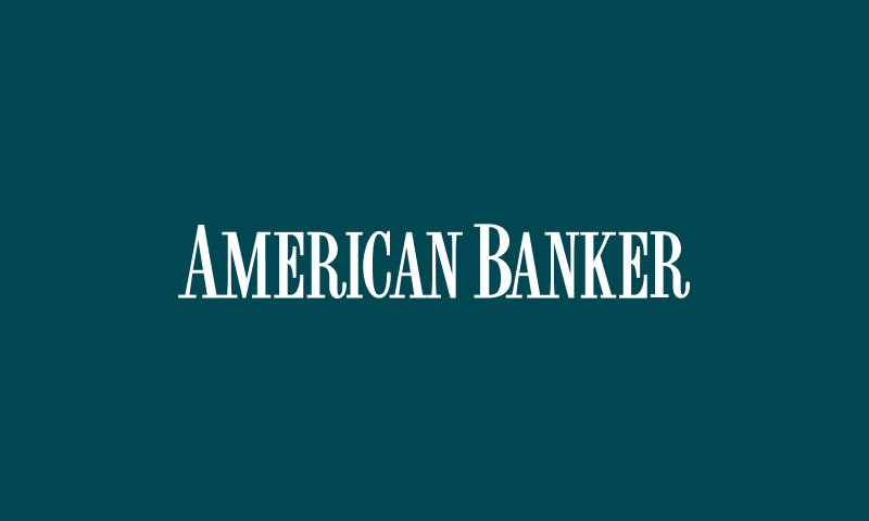 American banker logo tile