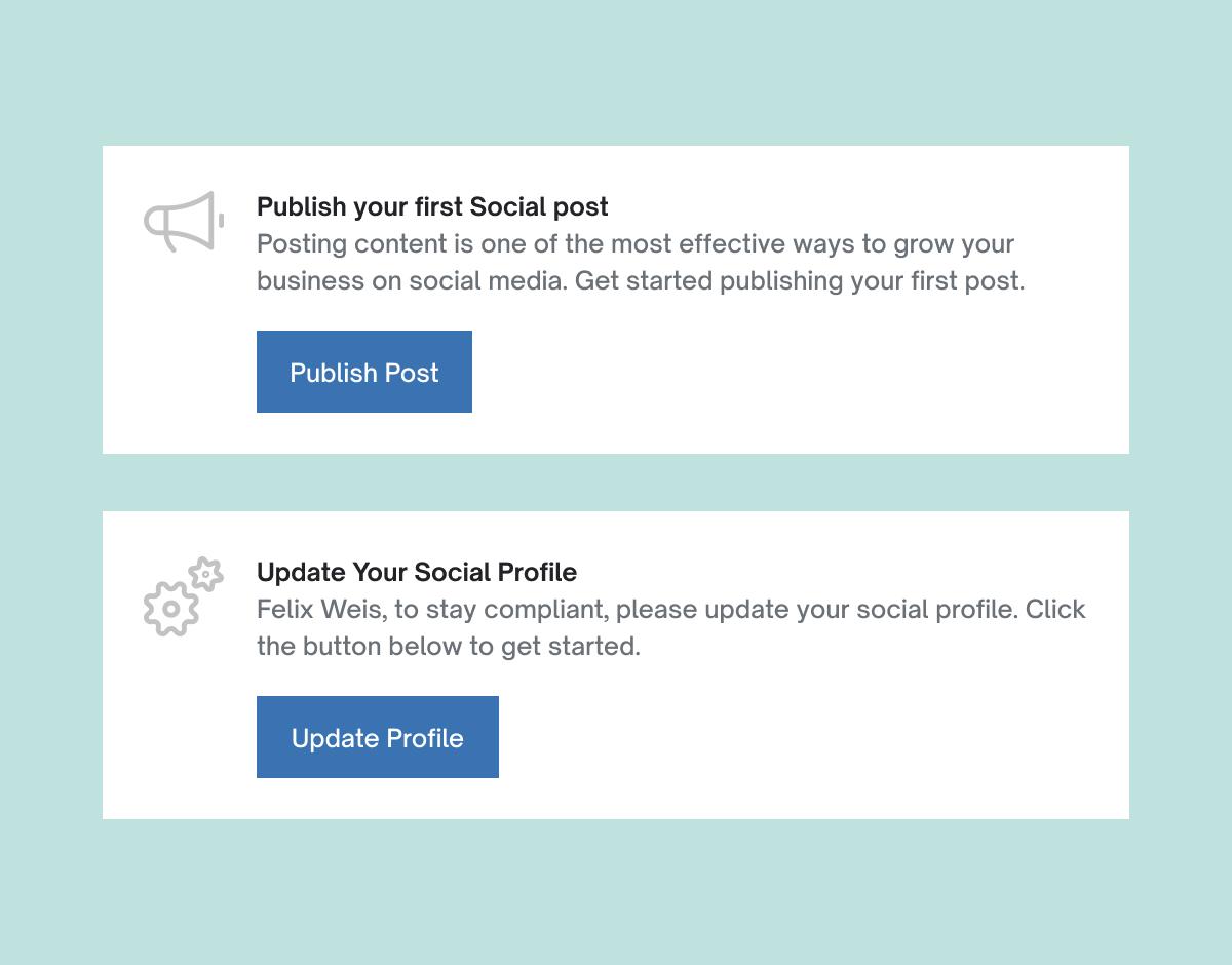 Hearsay Social feature