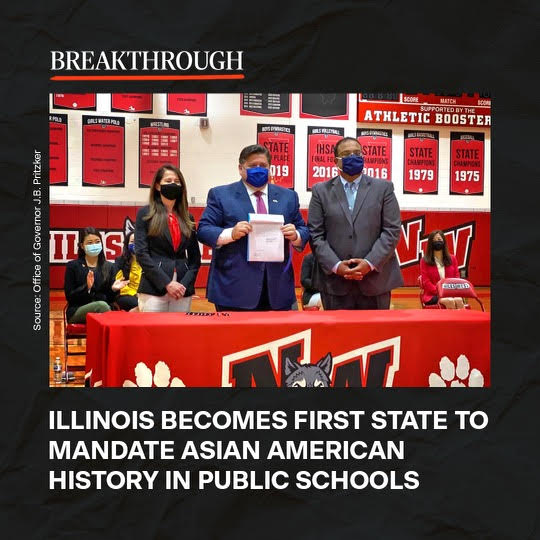 Illinois becomes first state to mandate Asian American history in public schools
