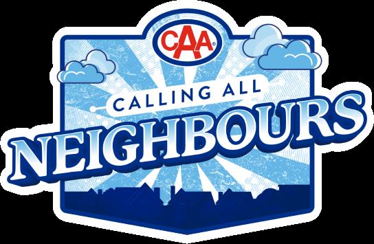 "Logo – CAA Calling All Neighbours"""