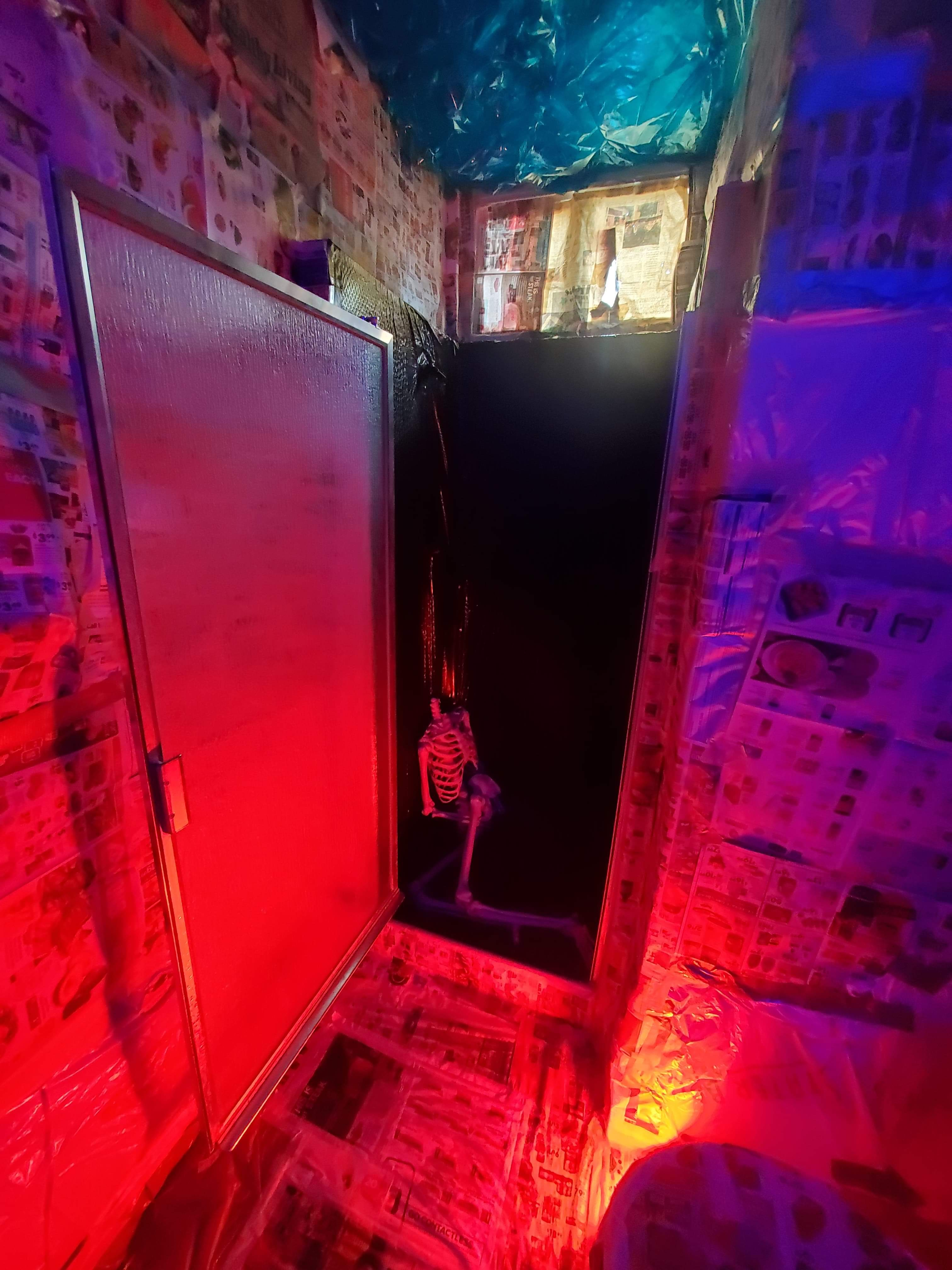 CalArts Halloween Remote Experience - Film Set (bathroom)