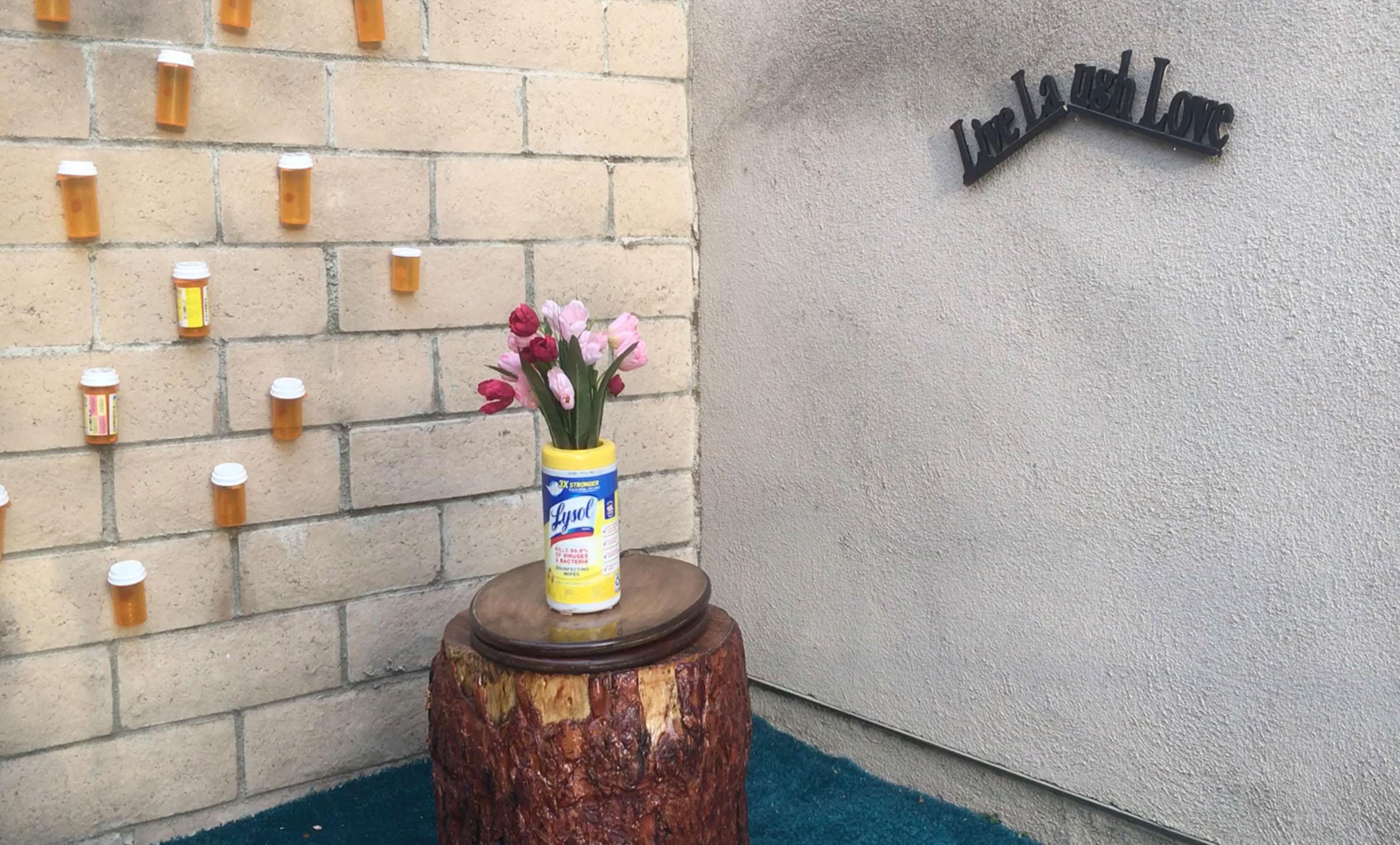 Sandy Clarita installation