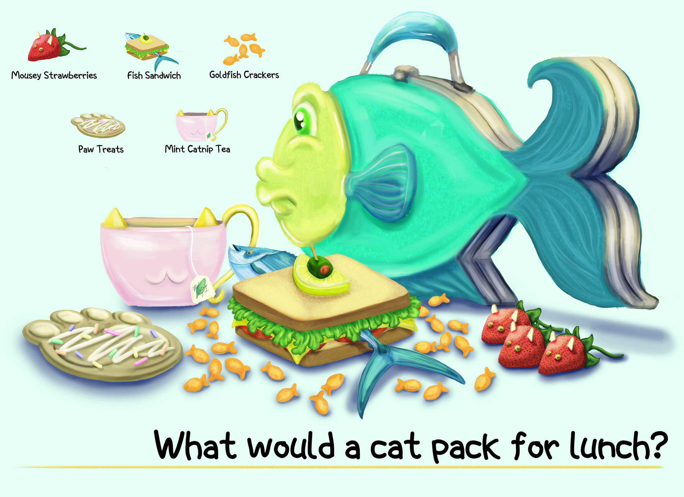 What Would a Cat Pack for Lunch?