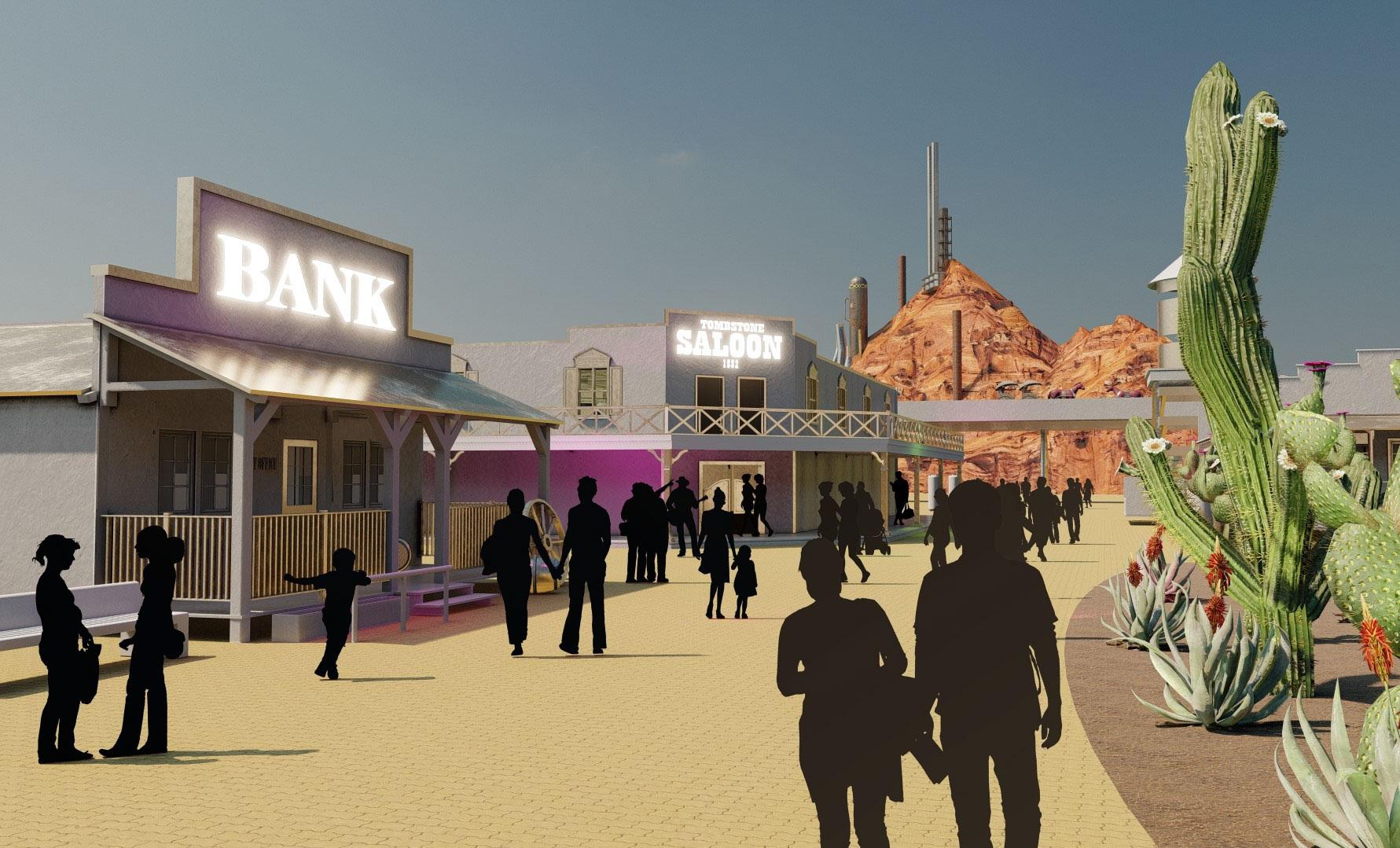 Tomorrowland Reimagine - Sci-Fi Western
