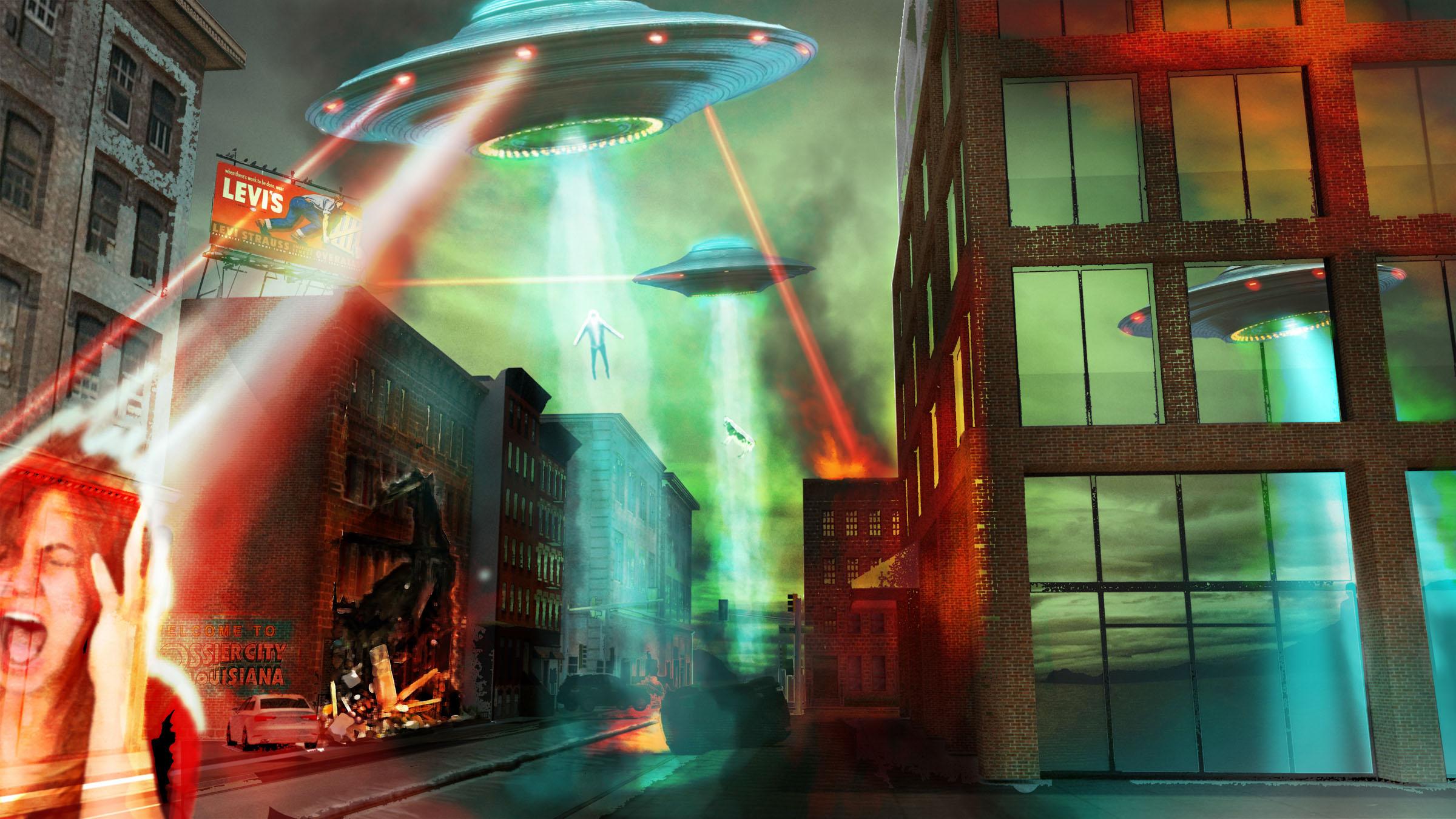 Alien Apocalypse Concept Art