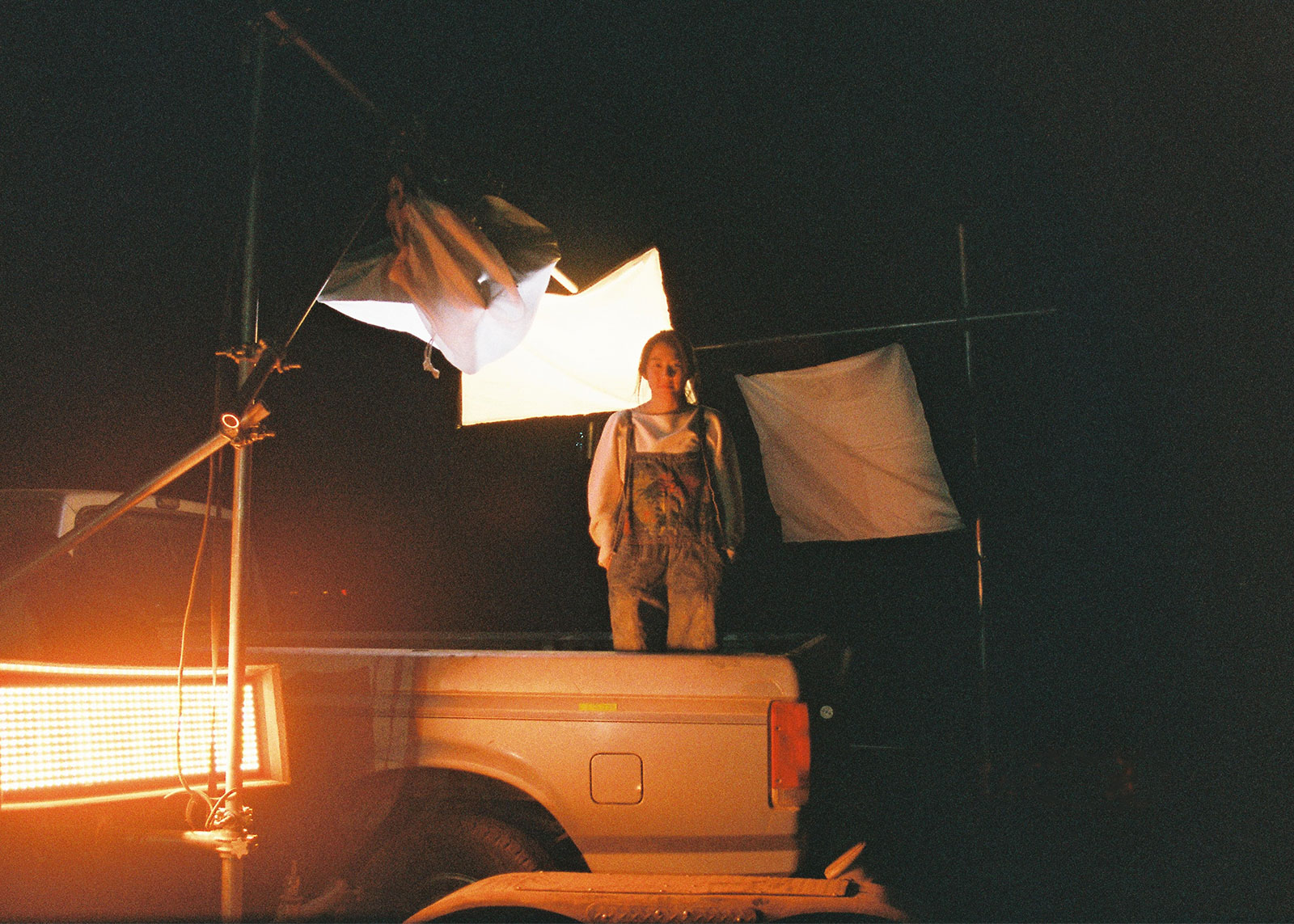 Behind the Scene photo for sci-fi short 'Joshua', March 2021.