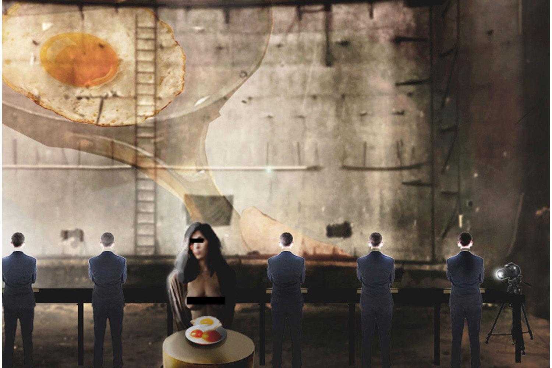 Hamletmachine' / Beirut version in the Egg
