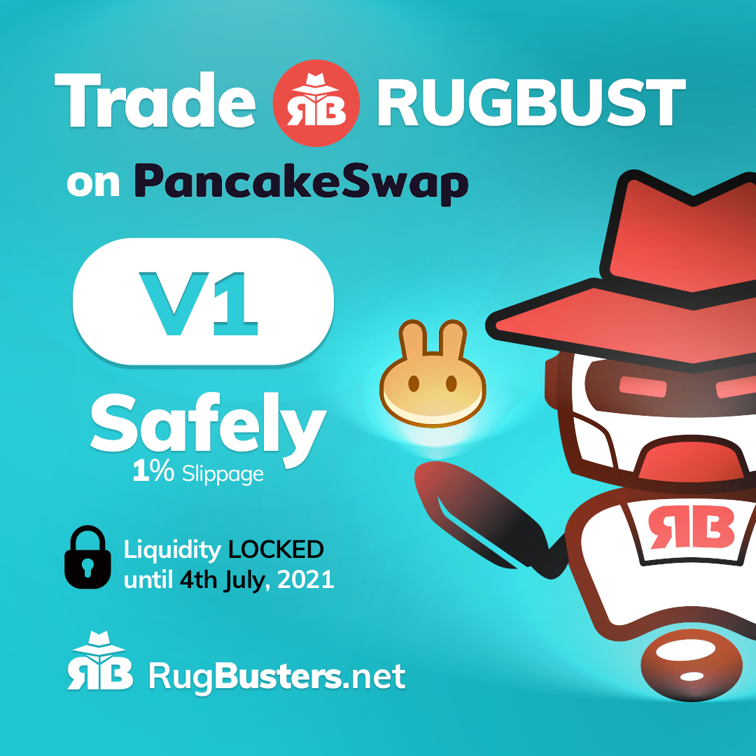 How to buy $RUGBUST with your Trust Wallet or MetaMask
