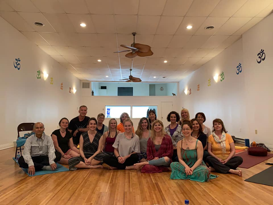 members of Three Rivers Yoga