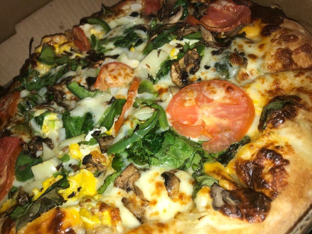 Ephesus vegan pizza