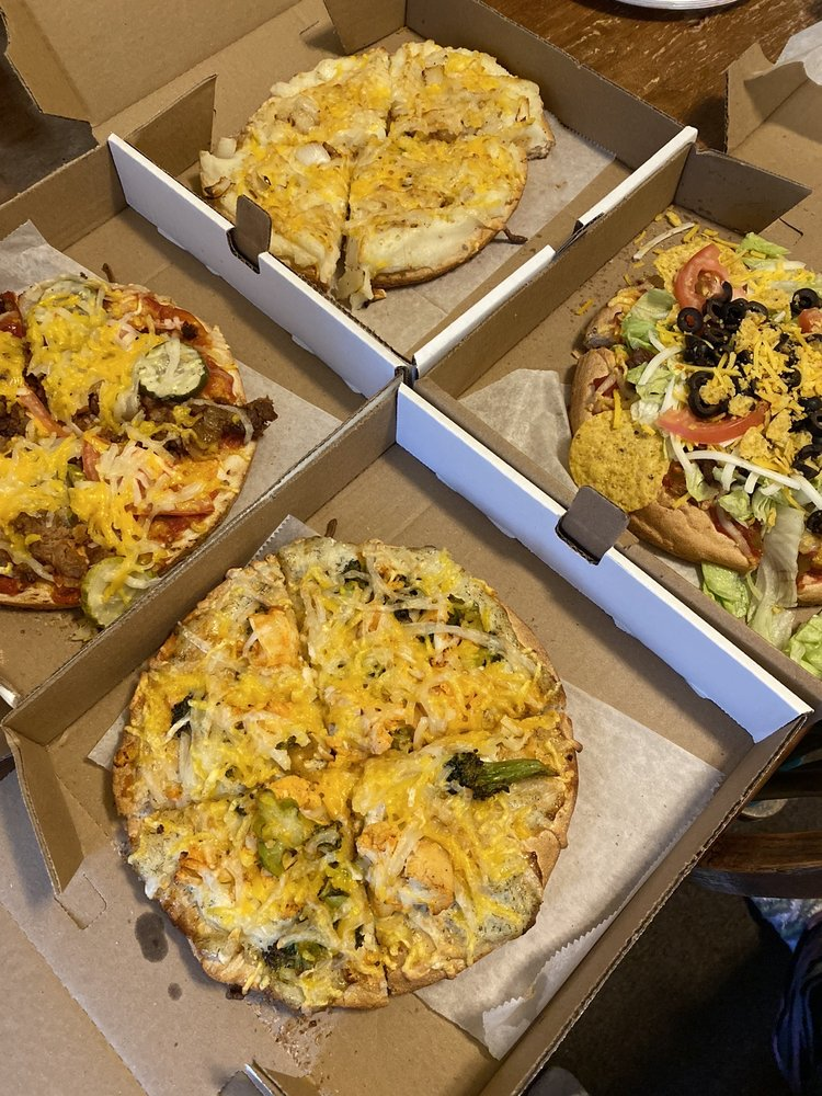 Country Style vegan pizza
