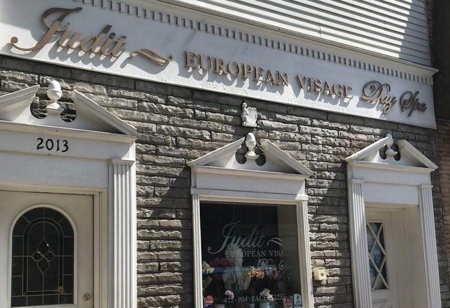 Storefront of Judit Spa