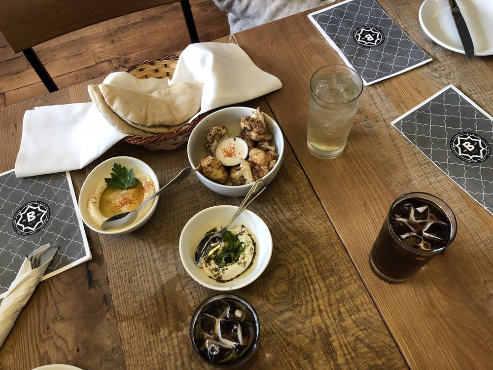 vegan appetizers from B-52 Cafe