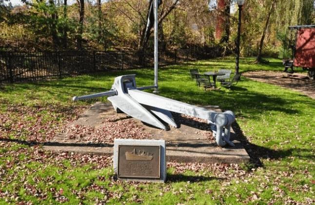 Anchor exhibit at Riverfront Park