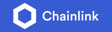 White chainlink logo