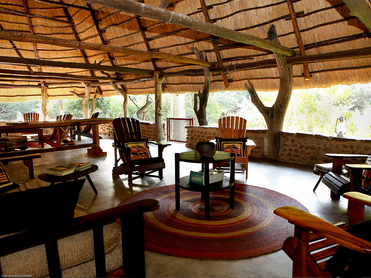Mkhaya Game Reserve Stone Camp