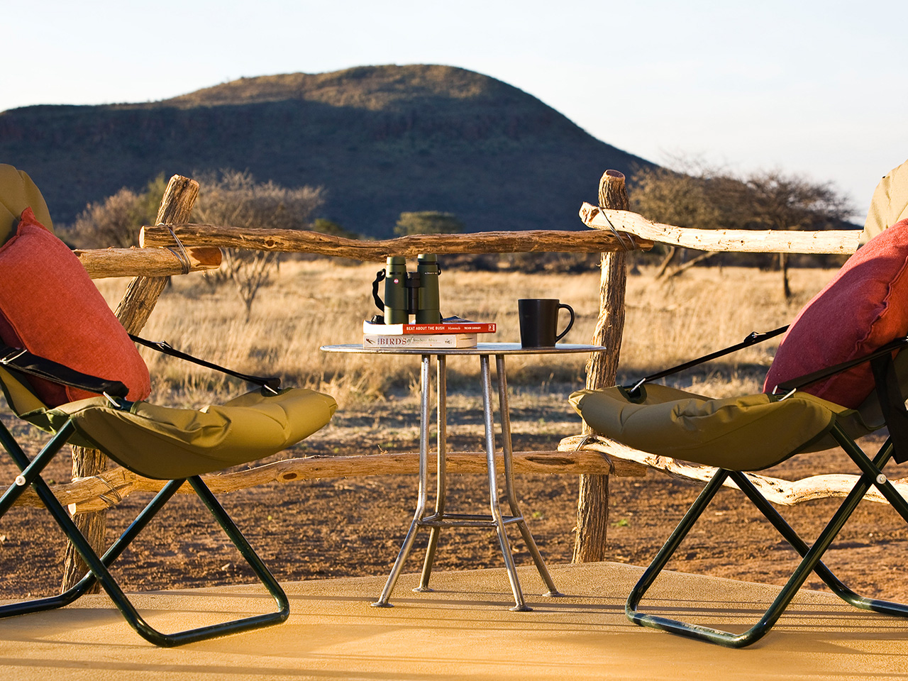 Okonjima Lodge Plains Camp