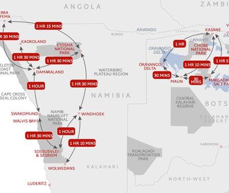Flying Times Namibia & Botswana
