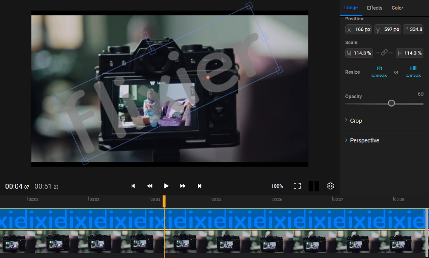 How to add a watermark to your video