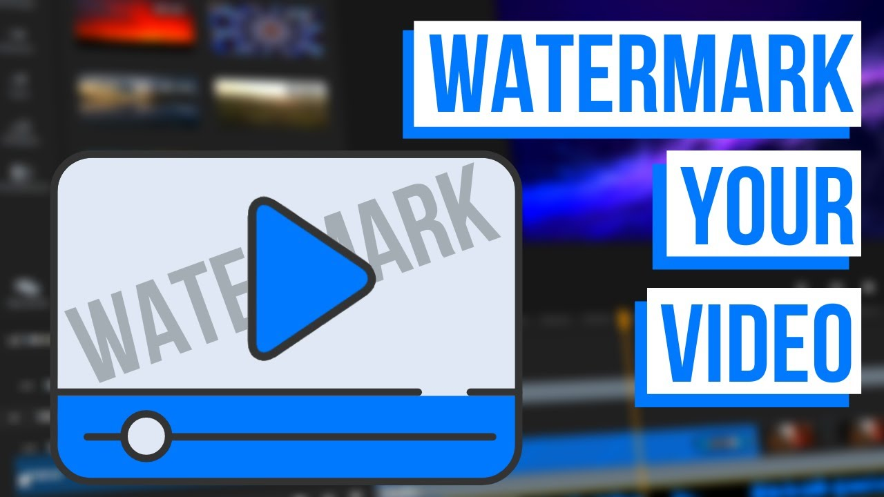 How to add a watermark to your video online: