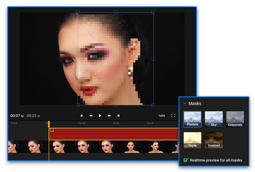 How To Blur or Pixelate A Video Online