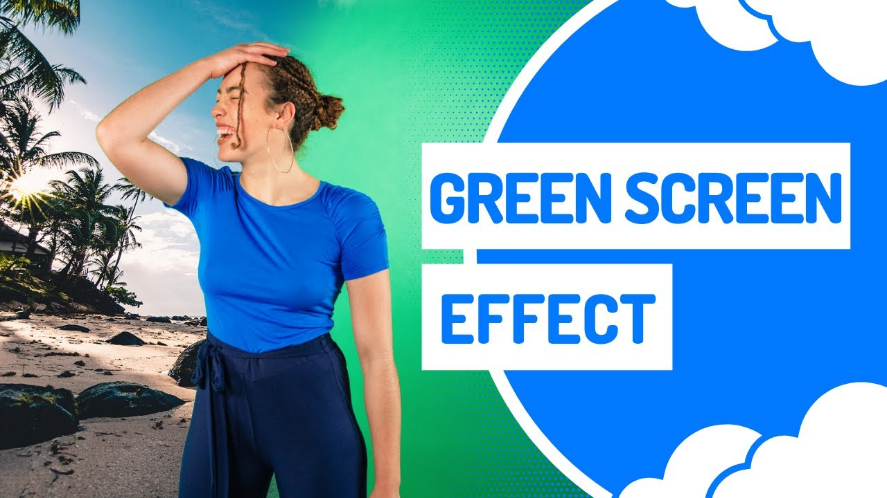 How to make green screen videos online: