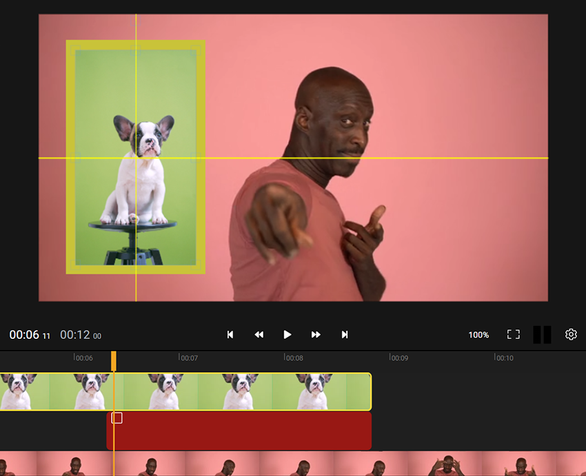 How to make a picture in picture video online
