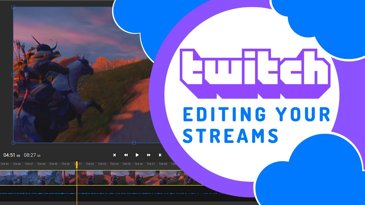 How to edit your Twitch videos for YouTube:
