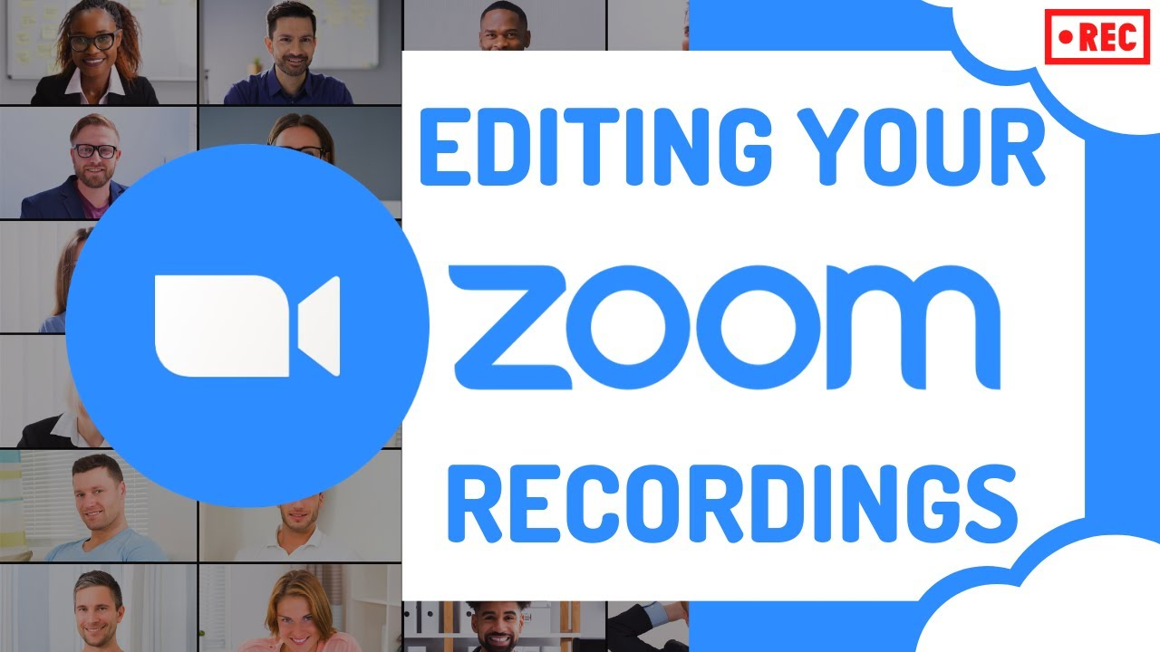 How to edit a Zoom video recording online