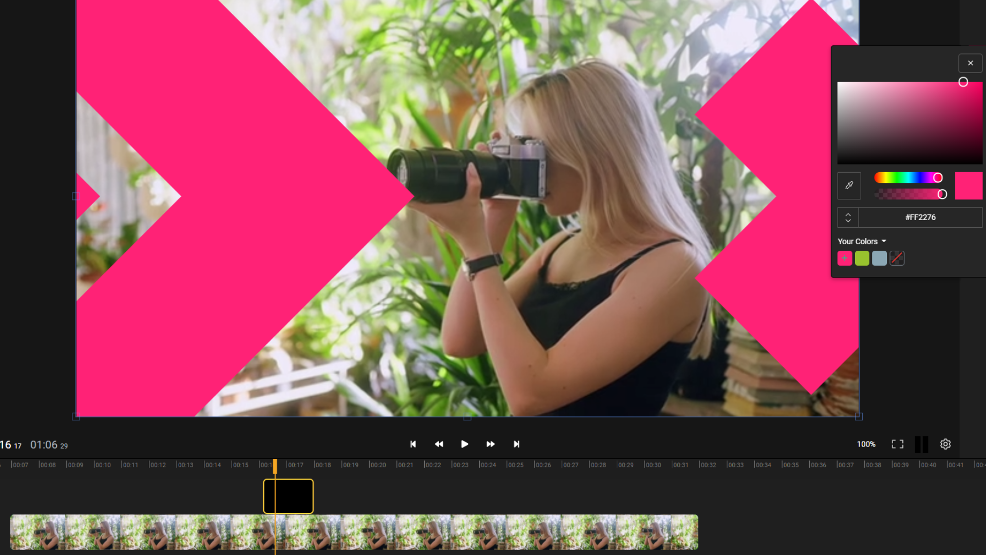 How to add video overlays online