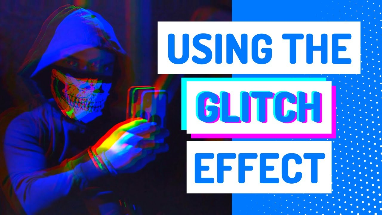 How to add a glitch effect to your video: