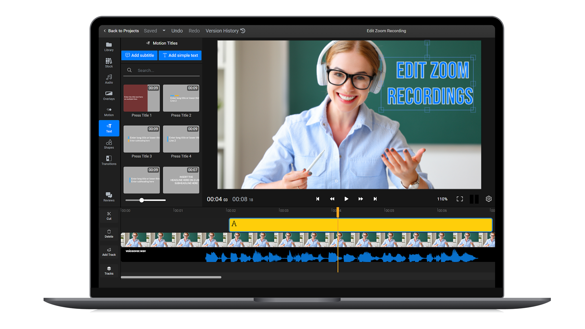 How to edit Zoom recordings