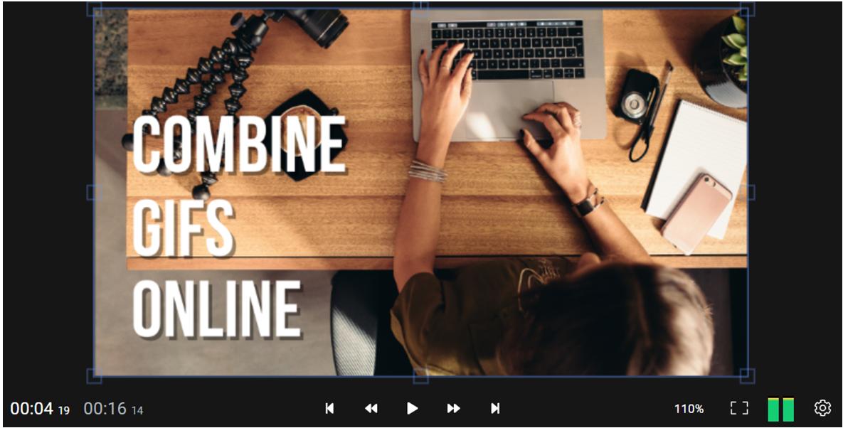 Combine GIFs online