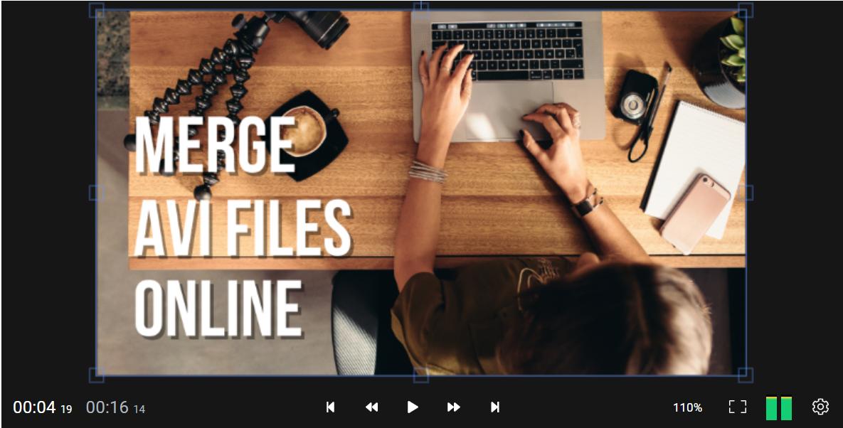 Merge AVI files