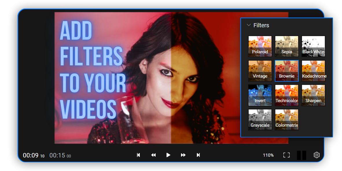 Online Video Filters