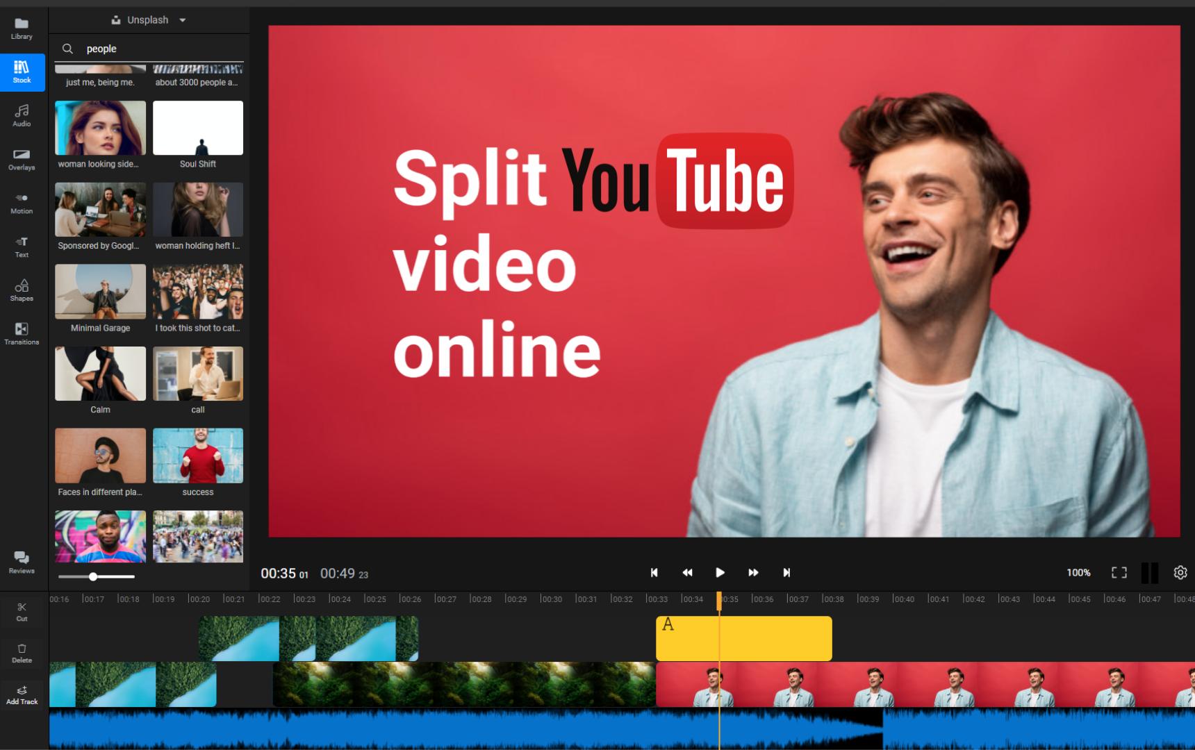 YouTube Video Splitter