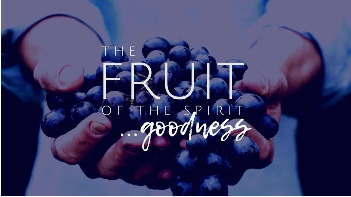 """""""The fruit of the spirit . . . goodness"""" graphic"""