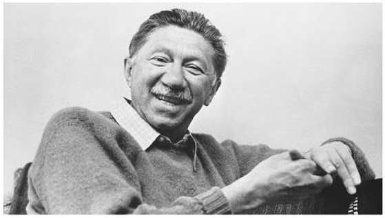 A photo of American humanistic psychologist Abraham Maslow