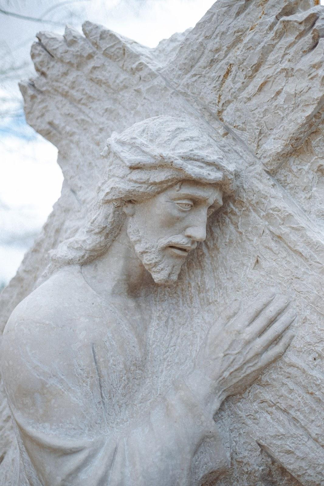 carved statue of Jesus