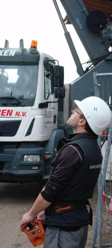 bediening vrachtwagen