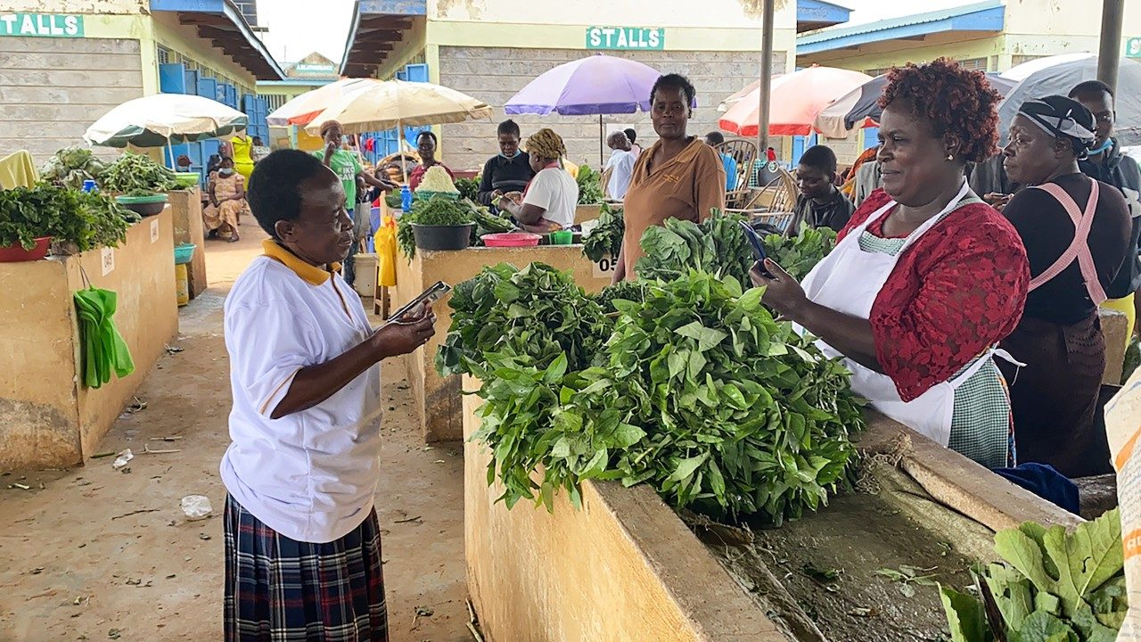 Deployment of smartphones, app aims to improve food and nutrition security in Kenya