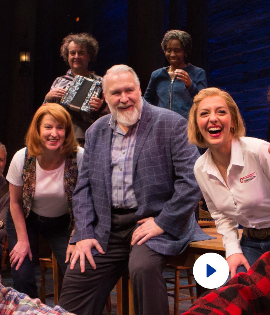 Episode thumbnail showing various people smiling