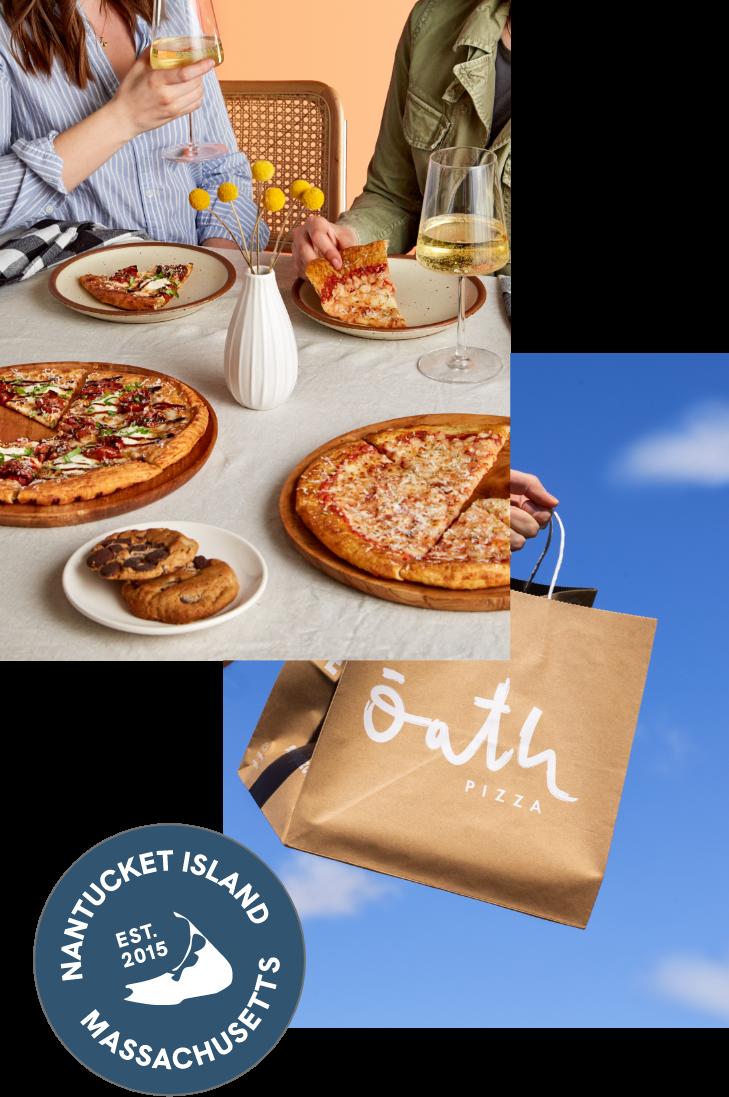 Oath Pizza, 100% Feel-Good Pizza